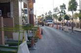 Entran en su última fase las obras de remodelación de las aceras de la Avenida Rambla de La Santa