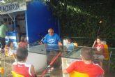 40 niños se inician en la pesca con caña gracias al Club de Pesca de Puerto de Mazarrón