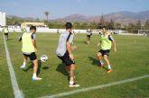 El Real Murcia CF se ejercita hoy y mañana en el Polideportivo Municipal 6 de Diciembre de Totana