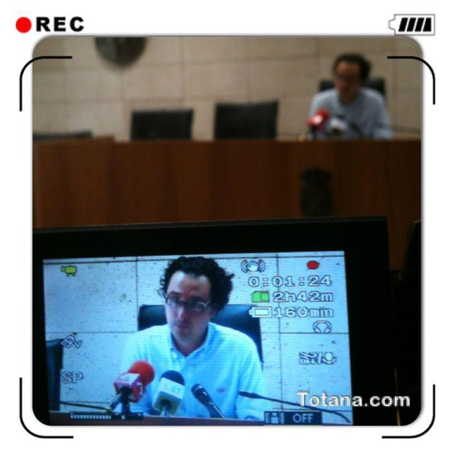 Rueda de prensa. Valoración Pleno septiembre 2012, Foto 2