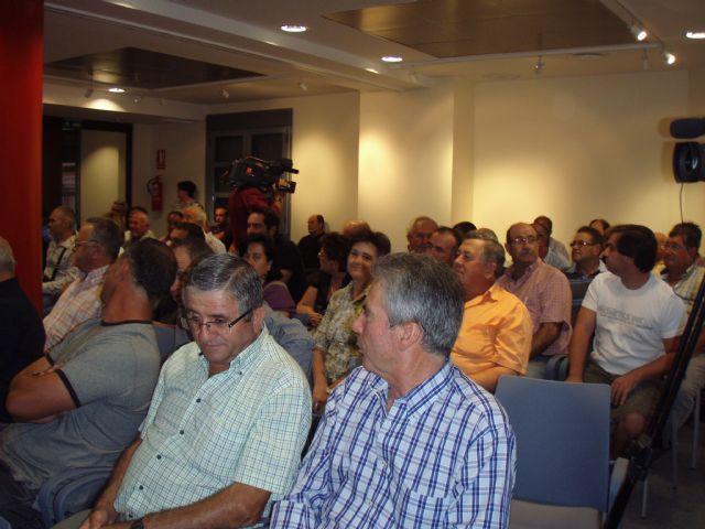 La asamblea de agricultores de Totana afectados por la tormenta e inundaciones acordó adherirse a las peticiones de COAG-Lorca, Foto 2