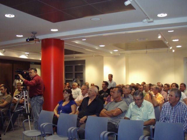 La asamblea de agricultores de Totana afectados por la tormenta e inundaciones acordó adherirse a las peticiones de COAG-Lorca, Foto 3