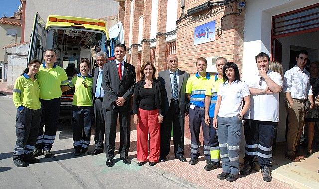 La Gerencia de Emergencias Sanitarias 061 de la Región de Murcia aumenta su número de bases para mejorar la cobertura asistencial, Foto 1