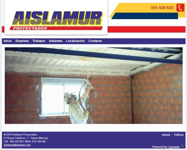 Aislamur se beneficia de las ventajas de Superweb, Foto 1