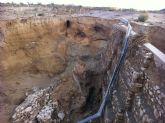 IU exige a la CHS la reconstrucción del Puente sobre el Canal, destruido por las aguas, en la Pedanía del Paretón