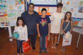 La concejalía de Atención Social y la Peña Barcelonista de Totana hacen entrega de los premios del concurso de dibujo La tolerancia, ¿tú como la pintas?