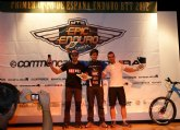 El alhameño Salva Olivares termina tercero en el Open de España de Enduro de Mountain Bike
