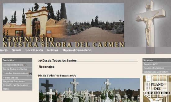 Totana la web del cementerio municipal nuestra se ora - Marmoles torre pacheco ...