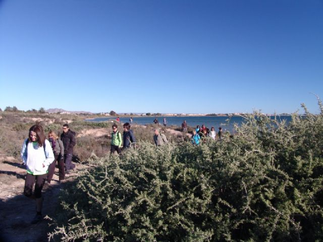 La segunda ruta de Senderismo organizada por la concejalía de Deportes congrega a 25 participantes, Foto 1