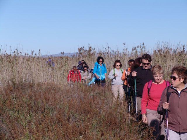 La segunda ruta de Senderismo organizada por la concejalía de Deportes congrega a 25 participantes, Foto 3
