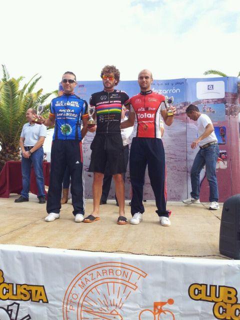 Pedro Antonio Cánovas sube al podium en Puerto de Mazarrón, Foto 3