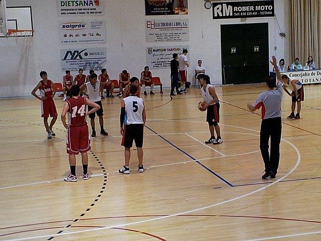 Club Baloncesto Totana 68-64 Bahía Mazarrón Basket, Foto 1