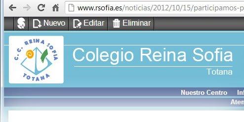 El Colegio Reina Sofía apuesta por Superweb, Foto 2