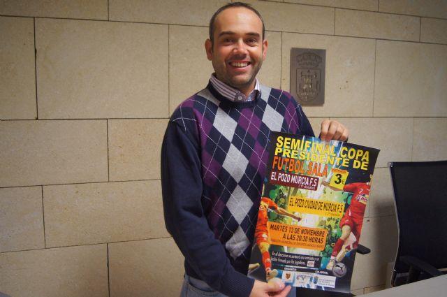 El Pabellón de Deportes Manolo Ibáñez acogerá el próximo martes, día 13, la semifinal de la Copa Presidente de Fútbol-Sala, Foto 1