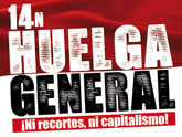 El PCPE y los CJC llaman a la clase obrera a la Huelga General el 14-N
