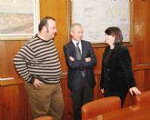La alcaldesa solicita al presidente de la CHS retomar el proyecto de la presa de Lébor