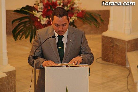 El acto de Juramento y toma de posesión del nuevo Presidente del Ilustre Cabildo Superior de Procesiones de Totana tendrá lugar mañana domingo, Foto 1