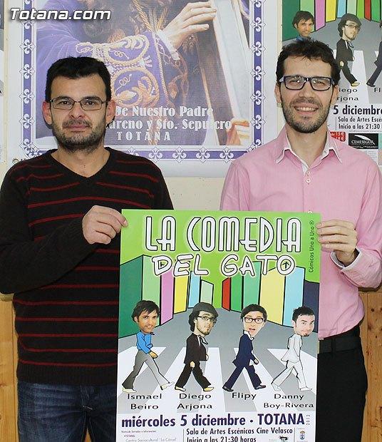 El próximo miércoles tendrá lugar la obra La Comedia del Gato, Foto 1