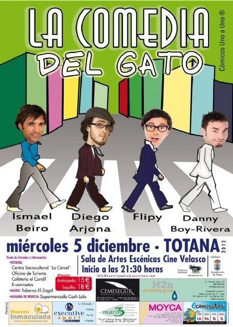 El próximo miércoles tendrá lugar la obra La Comedia del Gato, Foto 2