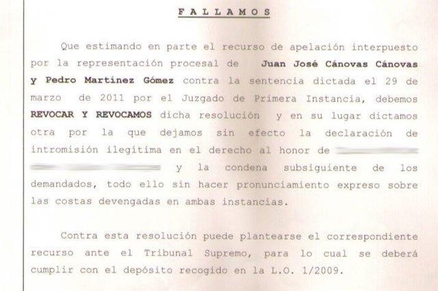 La Audiencia Provincial de Murcia dice que llamar señorito a un director general no atenta a su derecho al honor, Foto 4