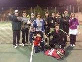 Victoria de la Escuela del Club de Tenis Totana en la Liga Regional Interescuelas