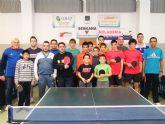 Francisco Javier Sánchez se adjudica el torneo de tenis de mesa de las fiestas