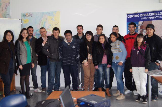 Doce alumnos participan en el Programa de Cualificación Profesional Inicial sobre Actividades en viveros y jardines, Foto 1