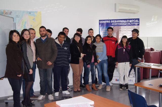 Doce alumnos participan en el Programa de Cualificación Profesional Inicial sobre Actividades en viveros y jardines, Foto 2