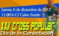 El XXV Cross Popular Día de la Constitución se celebrará mañana en las diferentes categorías, Foto 1
