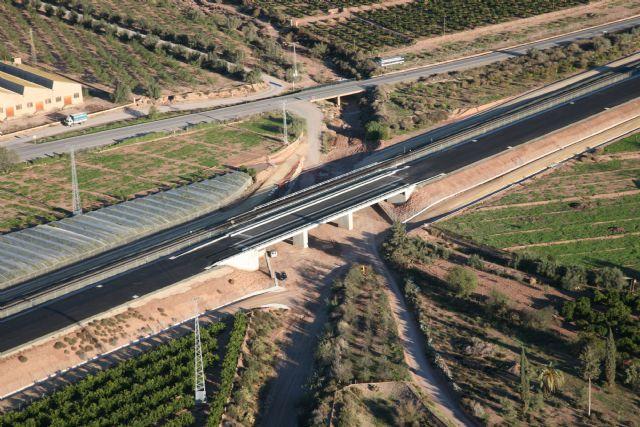 Adif finaliza las obras de plataforma del tramo Alhama de Murcia-Totana, Foto 1