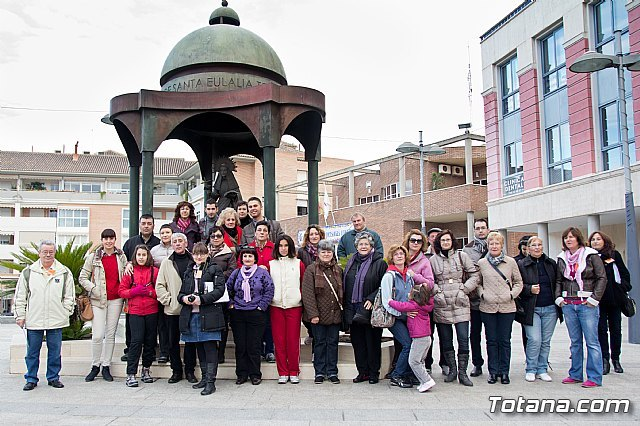 """La Asociación """"El Cañico"""" realiza una ruta gratuita por el casco urbano de Totana, Foto 1"""