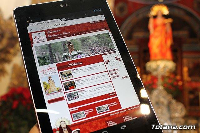La Santa ya tiene página web: lasanta.es, Foto 1