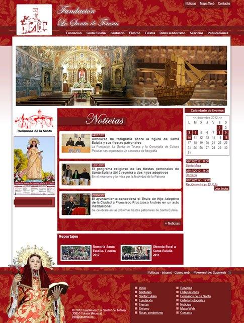 La Santa ya tiene página web: lasanta.es, Foto 3
