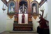 El Santísimo Cristo de la Caída cambia de ubicación en la Capilla de la Virgen de los Dolores en la Parroquia de Santiago el Mayor de Totana
