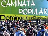 La Caminata Popular tendrá lugar este domingo, día 16, con salida a las 9:00 horas desde la Plaza de la Balsa Vieja