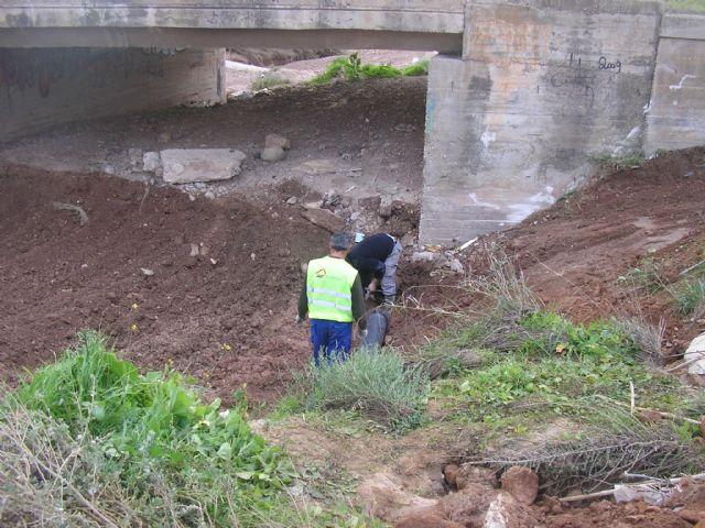 Limpieza de la rambla Celada tras los arrastres de las lluvias de septiembre, Foto 2
