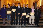 La Polic�a Local celebr� el d�a de su patr�n con la asistencia de la mayor�a de los agentes a la misa oficiada en San L�zaro
