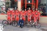 Presentación equipo Club Ciclista Santa Eulalia - Bike Planet