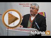 """Juan Valero: """"Para IU-Verdes, el 2012, es un año perdido para que Totana supere la crisis"""""""
