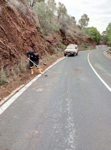 Sierra Espuña registra la mayor concentración de precipitaciones de la Región de Murcia durante el temporal de lluvias generalizadas, Foto 3