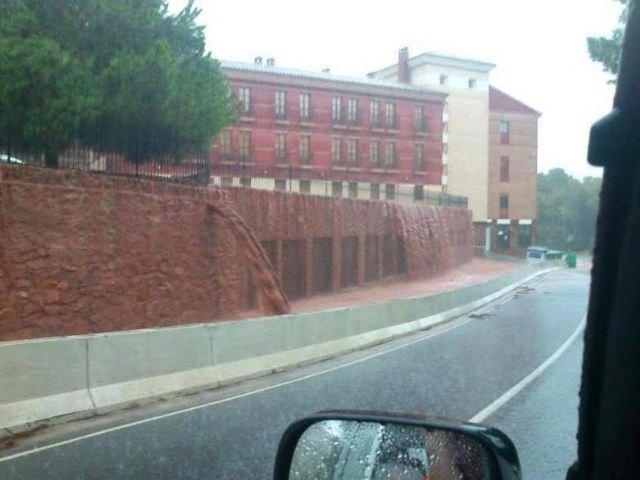 Sierra Espuña registra la mayor concentración de precipitaciones de la Región de Murcia durante el temporal de lluvias generalizadas, Foto 2