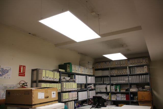 El Ayuntamiento apuesta por la eficiencia energética con la sustitución de todas sus luminarias, Foto 1