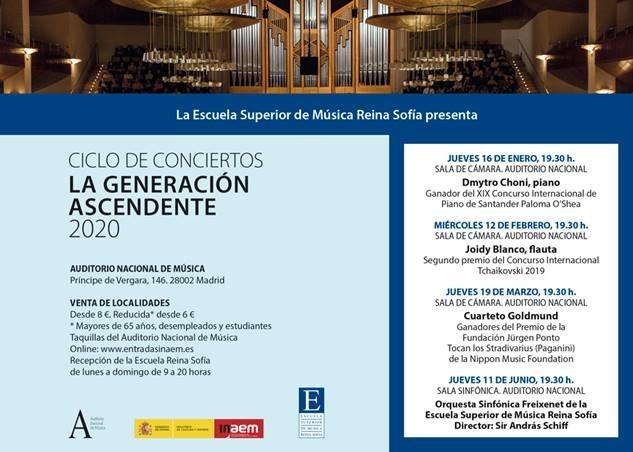 La Escuela Superior de Música Reina Sofía presenta a jóvenes músicos de talento - 1, Foto 1