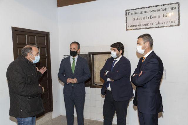 El Gobierno regional convertirá la iglesia convento de San José de Caravaca en el epicentro de las celebraciones del próximo Año Jubilar - 2, Foto 2