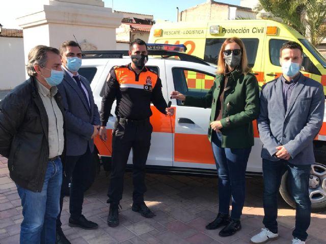Los voluntarios de Protección Civil de Fortuna cuentan con un nuevo vehículo para sus intervenciones - 1, Foto 1
