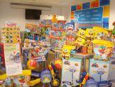 Cruz Roja y el Ayuntamiento reparten más de 140 juguetes a niños de Totana cuyas familias atraviesan una situación de necesidad