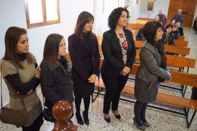 Autoridades municipales asisten al Raiguero Alto donde se ha celebrado el tradicional Canto de Ánimas de la mano de la cuadrilla de la pedanía, Foto 3