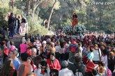 Más de 22.000 personas acompañan a Santa Eulalia, patrona de Totana, en romería en el regreso a su ermita de Sierra Espuña