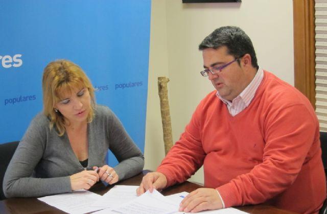 Violante Tomás (PP) se reúne con el presidente de la Federación de Enfermedades Raras para conocer sus propuestas para 2013, Foto 1