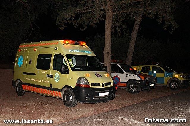 El Servicio Municipal de Emergencias de Totana atendió un total de 550 servicios de asistencias del 061 durante el pasado año, Foto 1